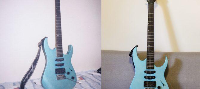 再見小藍電吉他